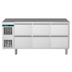 NordCap Kühltisch, 3 Abteile CLM 700 3-7051