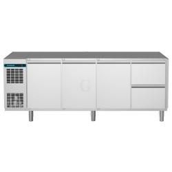 NordCap Kühltisch, 4 Abteile CLM 650 4-7011
