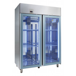 NordCap Cool-Line Glastürkühlschrank KU 1402-G Base