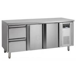 NordCap Cool-Line Kühltisch KTM 3 - 2T-2Z GN 1/1