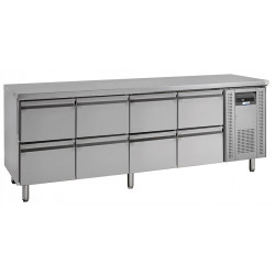 NordCap Cool-Line Kühltisch KTM 4 - 8Z GN 1/1