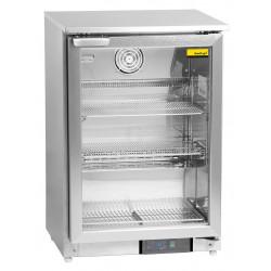 NordCap Umluft-Glastürtiefkühlschrank GF 200 U
