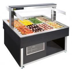 NordCap Salatbar TR-GREEN SQUARE 8/1