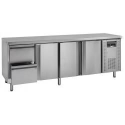 NordCap Cool-Line Kühltisch KTM 4 - 3T 2Z GN 1/1