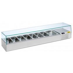 NordCap Pizzakühltisch-Aufsatz A 1600-1/1