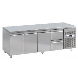NordCap Cool-Line Kühltisch KT 2260 3T 2Z