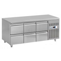 NordCap Cool-Line Kühltisch KT 1795 6Z