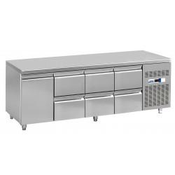 NordCap Cool-Line Kühltisch KT 2260 1T 6Z