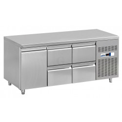 NordCap Cool-Line Kühltisch KT 1795 1T 4Z