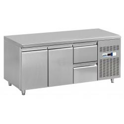 NordCap Cool-Line Kühltisch KT 1795 2T 2Z