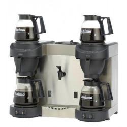 Animo Kaffeemaschine mit Heißwasserkocher M202W schwarz