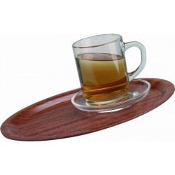 WAS Café Tablett oval, rutschfest