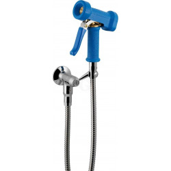 Knauss Armatur PowerSet Reinigungsgarnitur mit Wandventil und Power Reinigungsbrause