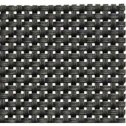 APS Tischset Schmalband - schwarz