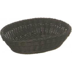 APS Korb, oval 25x19 cm, dunkelbraun