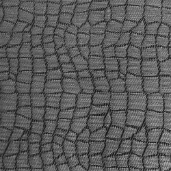 APS Tischset - Mosaik, schwarz, grau