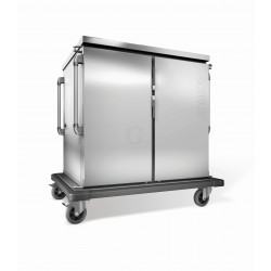 Blanco Tablett Transportwagen doppelwandig isoliert TTW 32-115 DZU