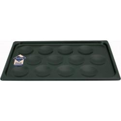 WAS Backblech für 12 Muffins Antihaft-Beschichtung