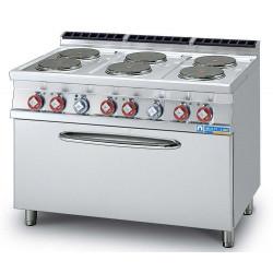 Multi-Line 700 Elektroherd mit Elektro-Backofen 70/120CFEGS-L