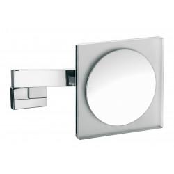 Frasco LED Wandspiegel, eckig 220 mm, Vergrößerung 3-fach