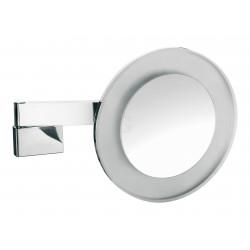 Frasco LED Wandspiegel, rund Ø 265 mm, Vergrößerung 3-fach