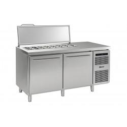 GRAM Saladetten-Kühltisch GASTRO K 1808 CSG SL DL/DR L2