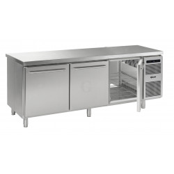 GRAM Durchreiche-Kühltisch GASTRO K 2408 D CSG A DL/DL/DR L2