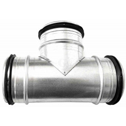 Gastro-Steel Lüftungstechnik T-Stück