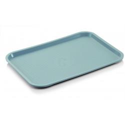 WAS Tablett Tray 92 45,5 x 35,5 x 2 cm lichtgrau Polypropylen