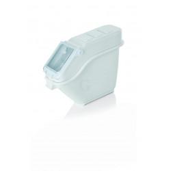WAS Lebensmittelbehälter 102 Liter 78 x 40,5 x 73,5 cm Polyethylen/Polycarbonat