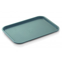 WAS Tablett Tray 95 35,3 x 27,5 x 1,5 cm lichtgrau Polypropylen