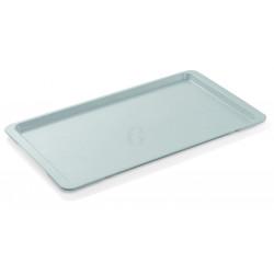 WAS GN Tablett Tray 96 1/1 lichtgrau Polyester