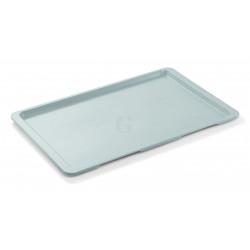 WAS EN Tablett Tray 96 53 x 37 cm lichtgrau Polyester