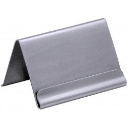 Contacto Kartenhalter, mit Falz, 6,2 cm