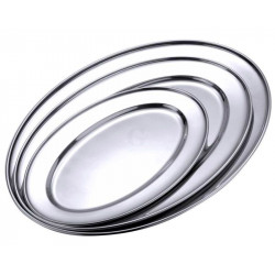Contacto Bratenplatte, oval, 55 cm