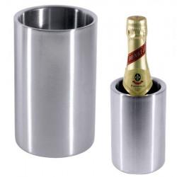 Contacto Wein-Flaschenkühler, höchlänzend poliert