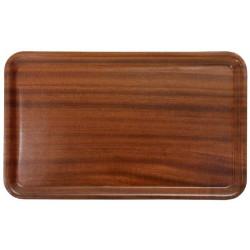 Contacto Tablett GN 1/1, rechteckig, mahagoni