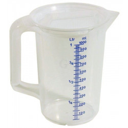 Contacto Messbecher mit Deckel 2 Liter