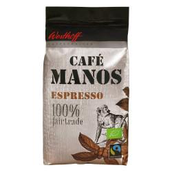 Westhoff Café Manos BIO Espresso Kaffeebohnen 8 x 1 kg im Paket