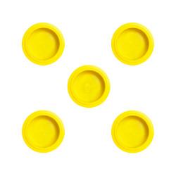 PacoJet Kunststoff Pacossier®-Becherdeckel 5 Stück-gelb