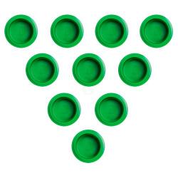 PacoJet Kunststoff Pacossier®-Becherdeckel 10 Stück-grün