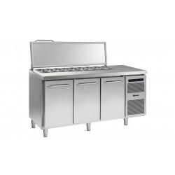 GRAM Kühltisch Saladette GASTRO K 1807 CSG SL DL/DL/DR L2