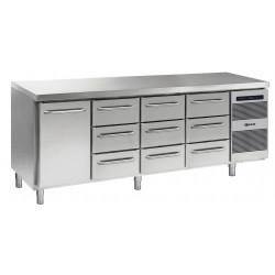 GRAM Kühltisch GASTRO K 2207 CSG A DL/3D/3D/3D L2