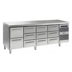 GRAM Kühltisch GASTRO K 2207 CSG A 2D/3D/3D/3D L2