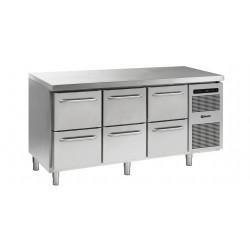 GRAM Kühltisch GASTRO K 1807 CSG A 2D/2D/2D L2