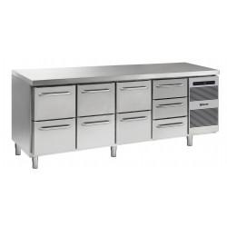 GRAM Kühltisch GASTRO K 2207 CSG A 2D/2D/2D/3D L2