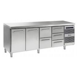 GRAM Kühltisch GASTRO K 2207 CSG A DL/DL/2D/3D L2