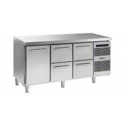 GRAM Kühltisch GASTRO K 1807 CSG A DL/2D/2D L2