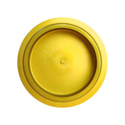 PacoJet Kunststoff Pacossier®-Becherdeckel 1 Stück-gold