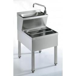 EKU Handwasch / Ausgußkombination HWA-60